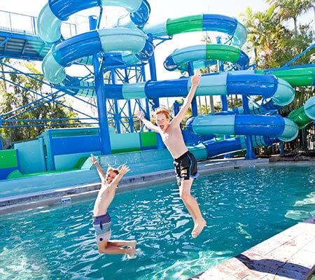 North Star Holiday Resort Water Slide