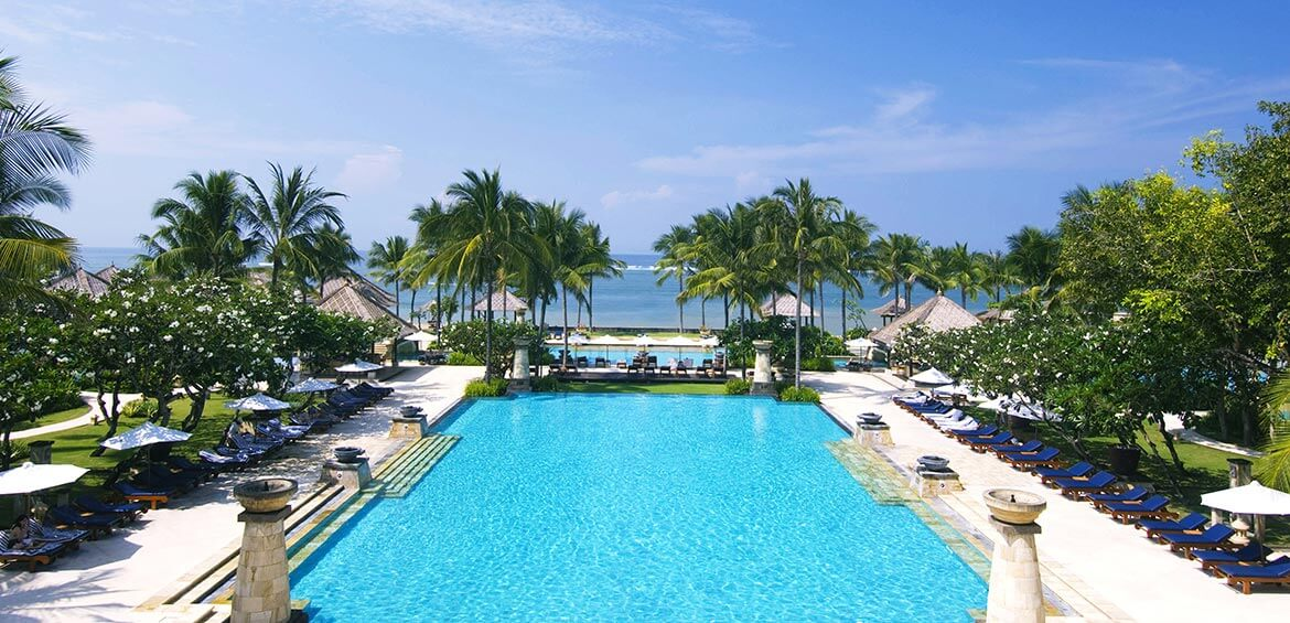 Pool at Conrad Bali