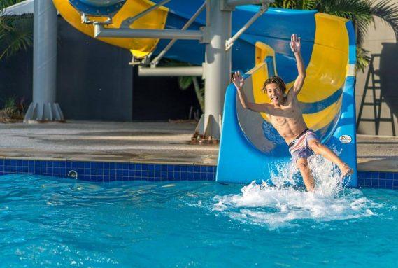 Pool at Nobby Beach Holiday Village
