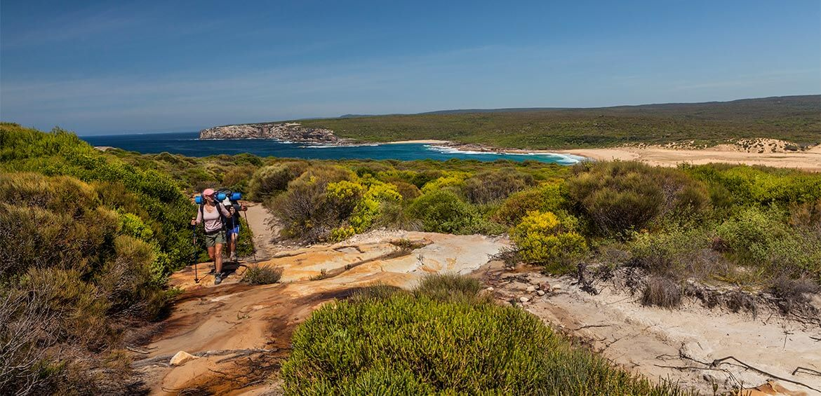 The Coast Track in Royal National Park