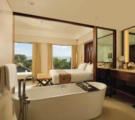 Two Bedroom Balcony at Padma Resort Legian