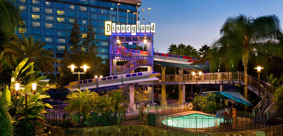 Waterpark at Disneyland Hotel Anaheim