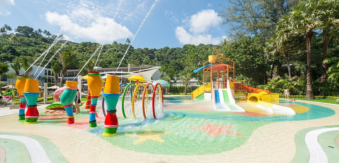 Waterpark at Katathani Phuket Beach Resort