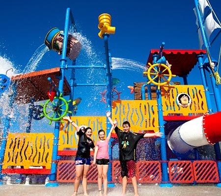 BIG4 Saltwater @ Yamba Holiday Park water park