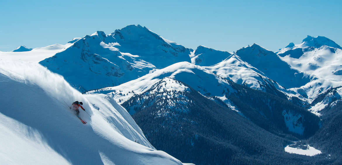 Powder skiing at Whistler © Eric Berger