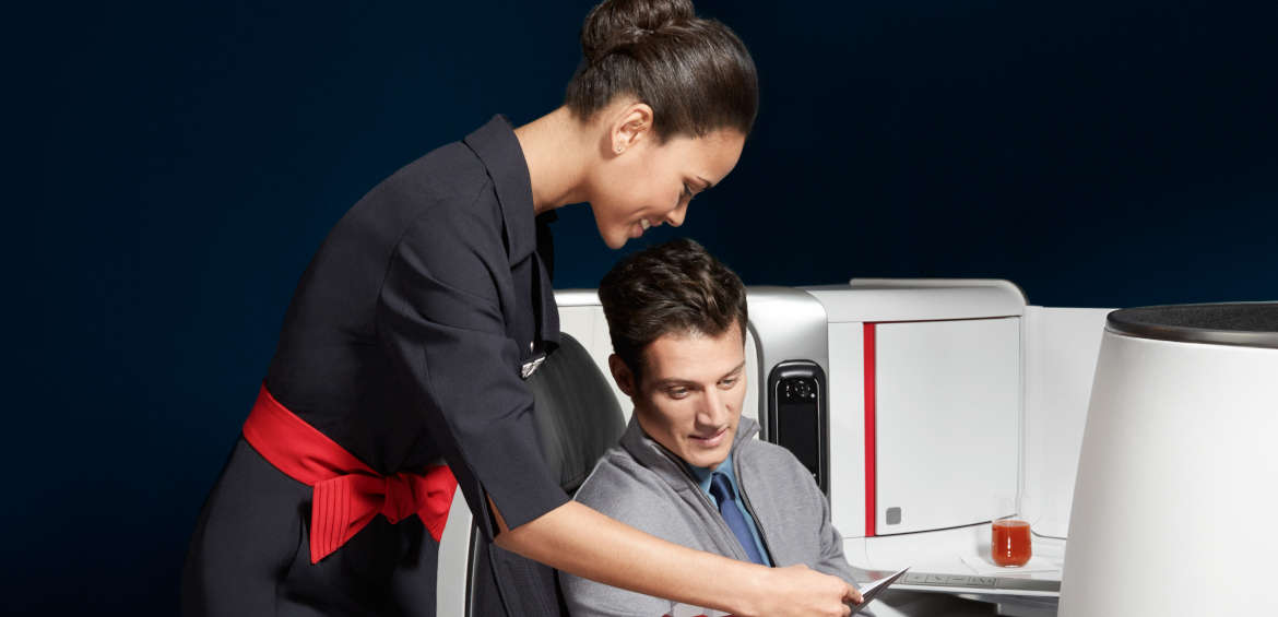 Premium service with Air France ©Air France Corporate