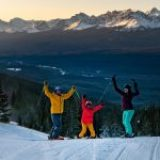 Banff National Park has officially kicked off the snowy season