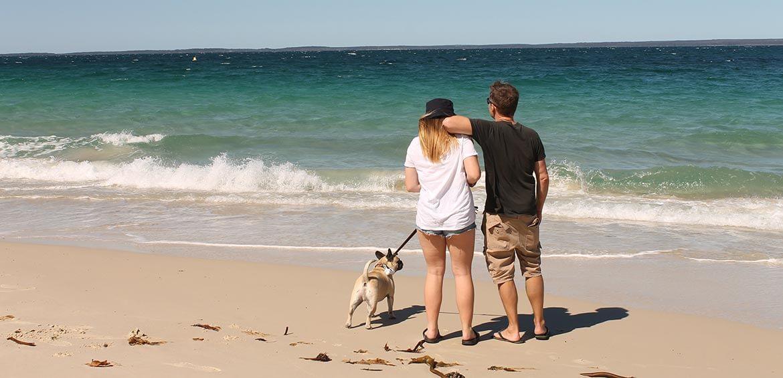 Family fun at Huskisson Beach