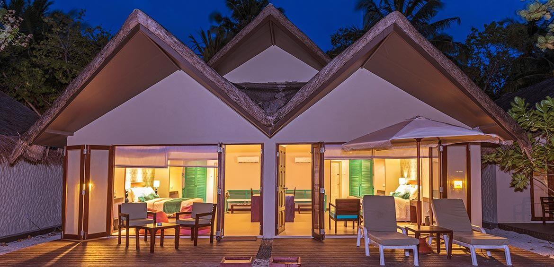 Family Beach Villa at Hudhuranfushi Resort