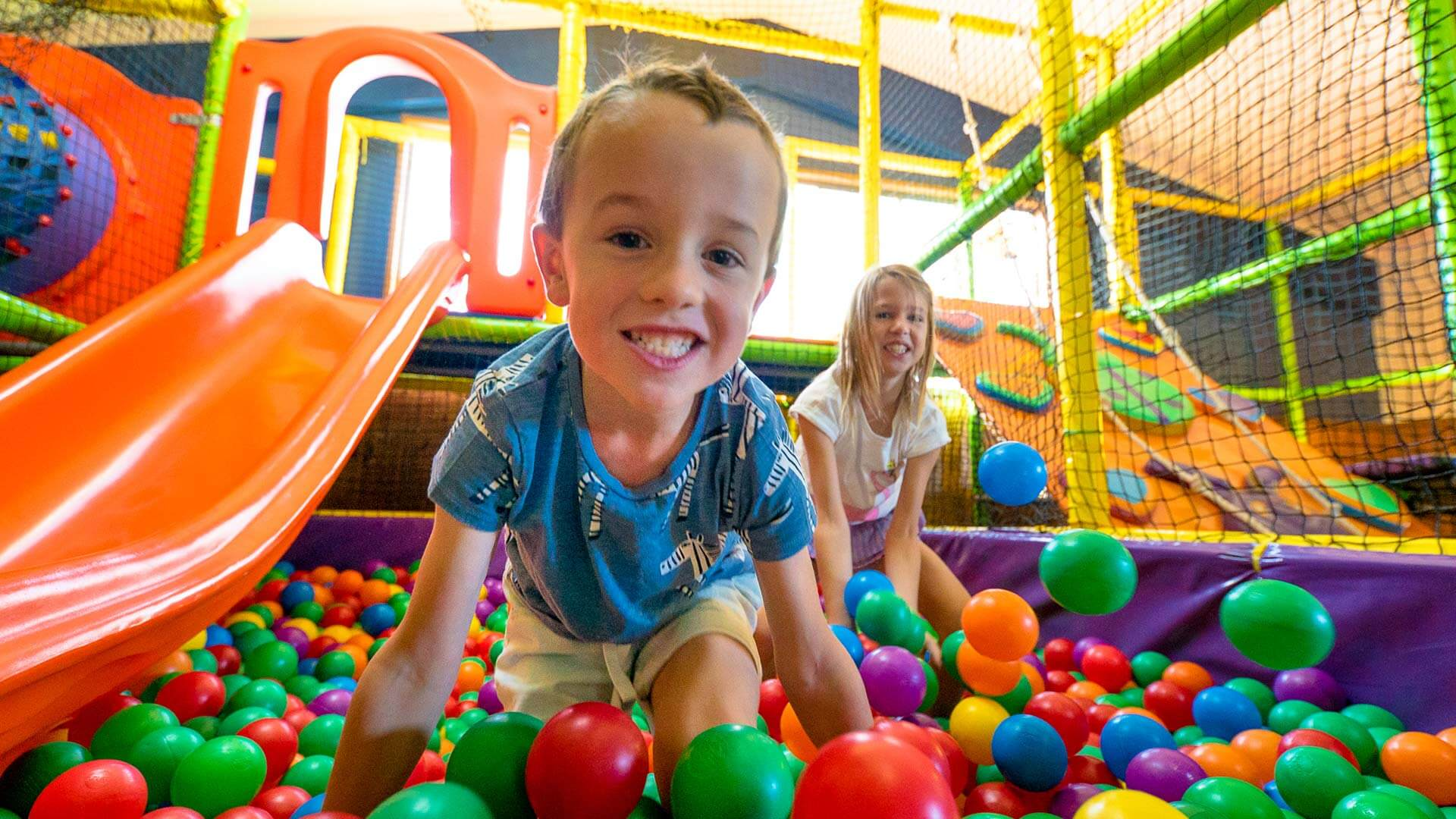 Indoor playground at BIG4 Beacon Resort