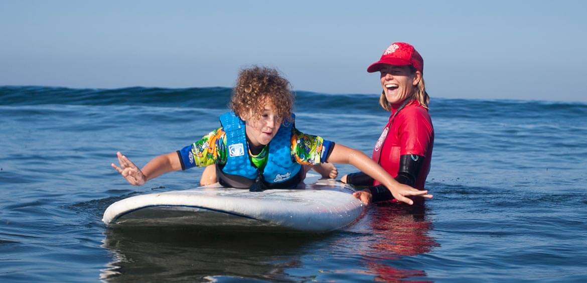 Learn to surf in San Diego