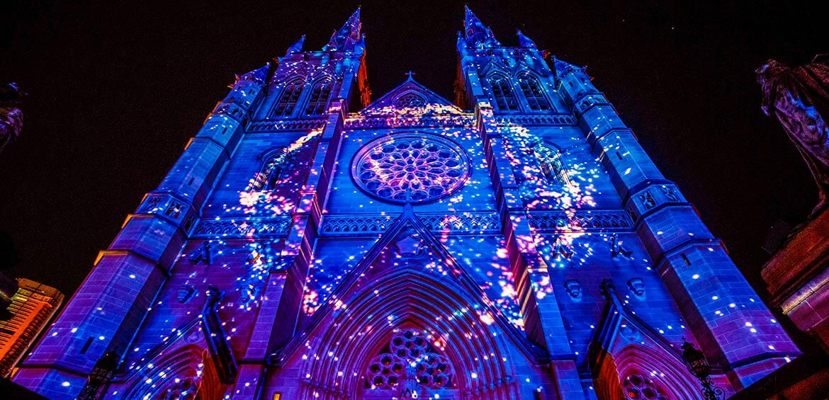St Mary's Cathedral, Sydney, Lights of Christmas