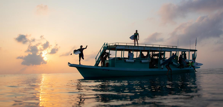 World Surfari boat
