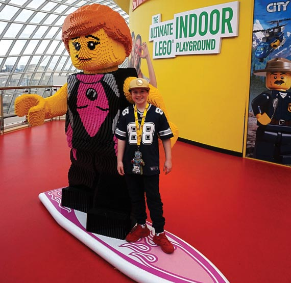 Visit the ultimate indoor LEGO playground