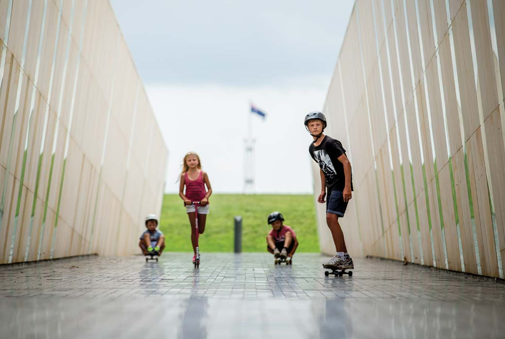 Canberra family holiday
