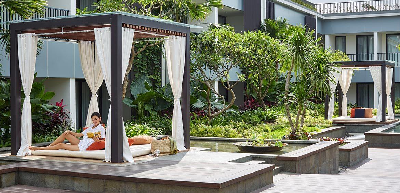 Cabana at Aryaduta Bali