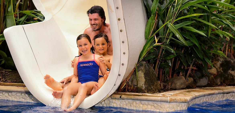 Slide at Jean-Michel Cousteau Resort Fiji