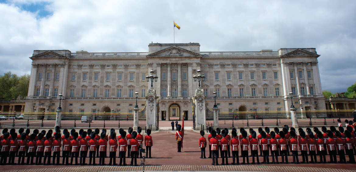 Changing of the guard at Buckingham Palace © Diana Jarvis