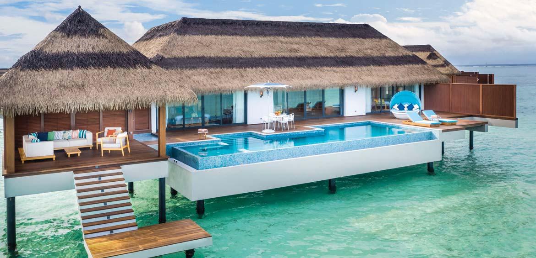 Overwater luxury at Pullman Maldives Maamutaa