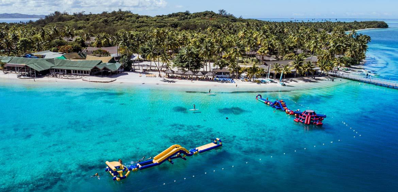 Ocean waterpark at Plantation Island Resort