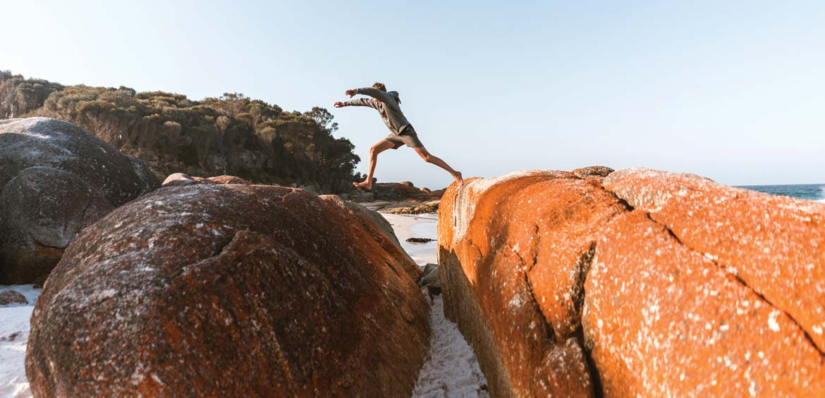 Exploring the Bay of Fires