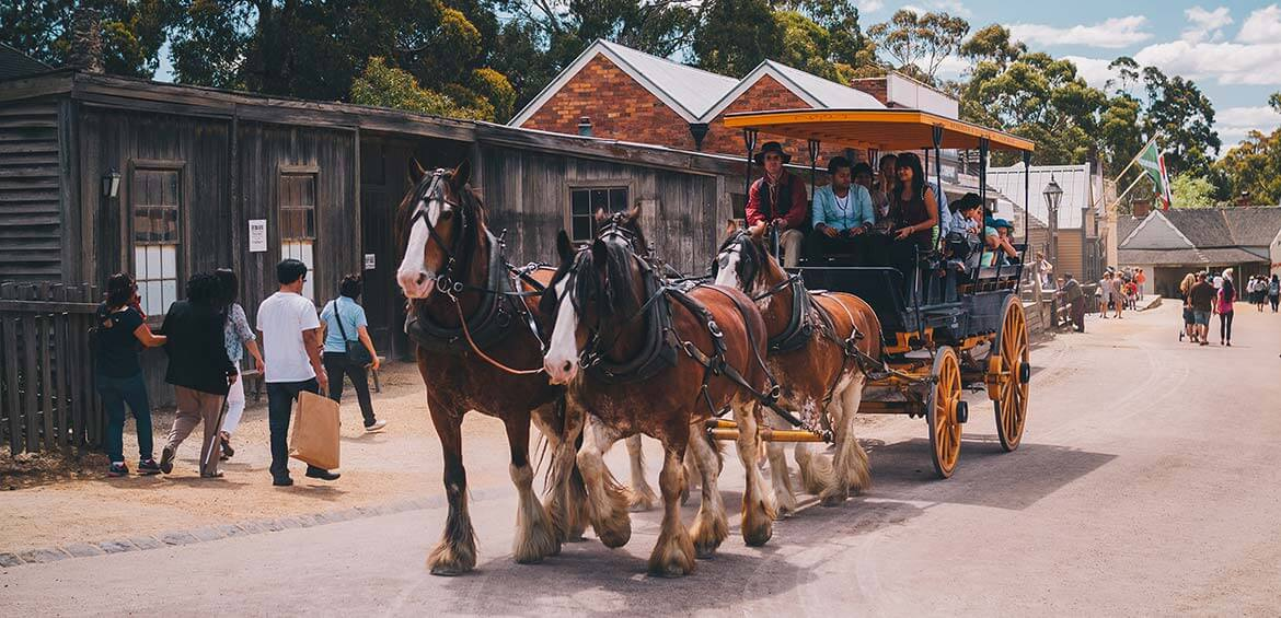 Sovereign Hill, Ballarat, VIC
