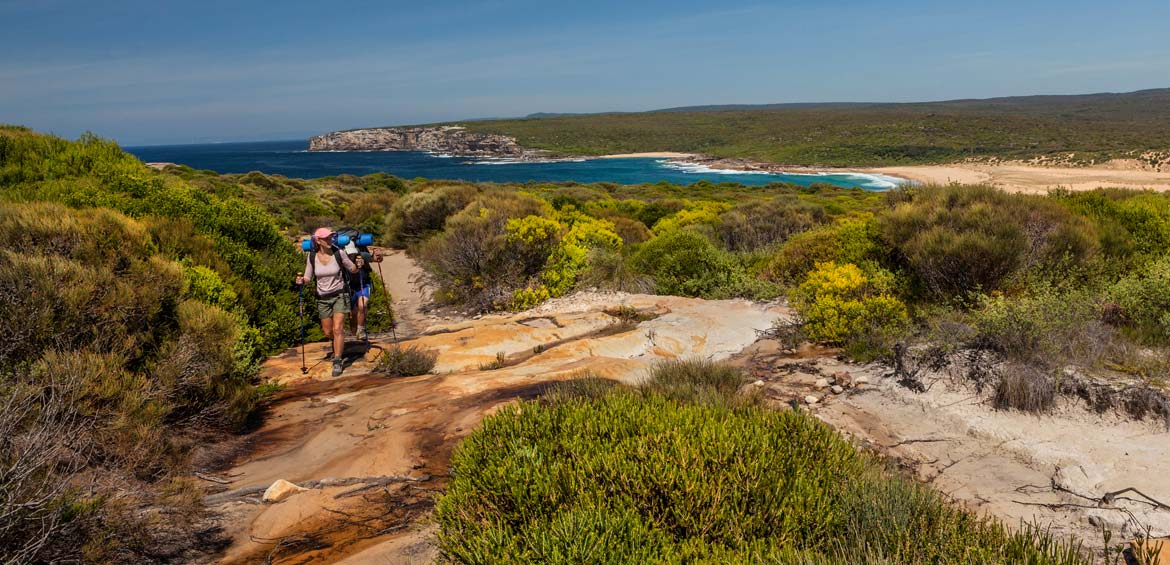 The Coast Track in the Royal National Park