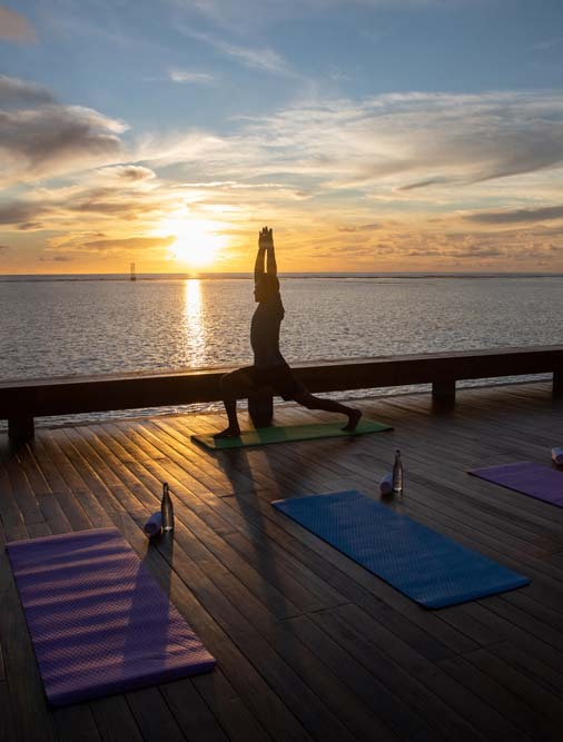 Yoga at Pullman Maldives Maamutaa