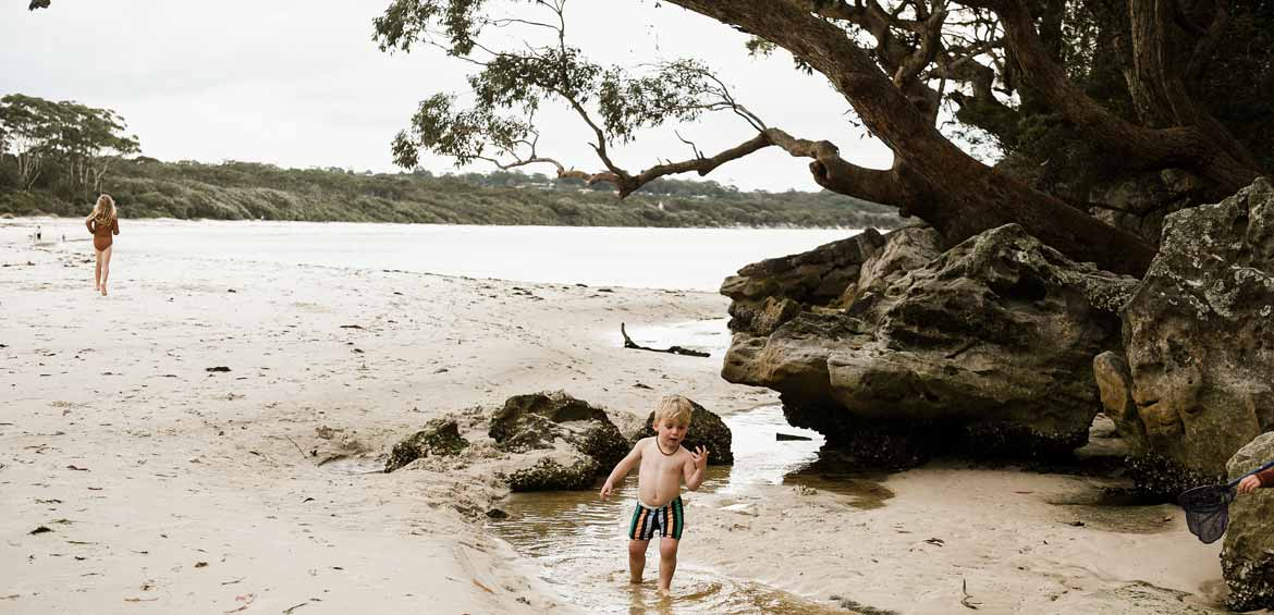 Kiama beaches are perfect for toddlers