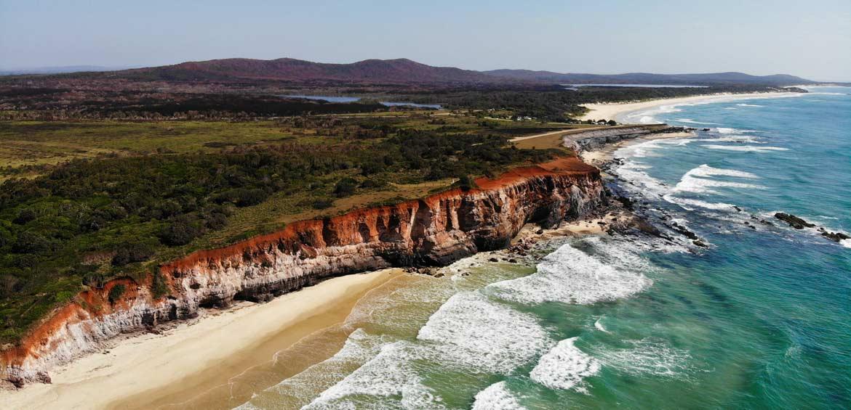 Red Cliff Beach, NSW Australia