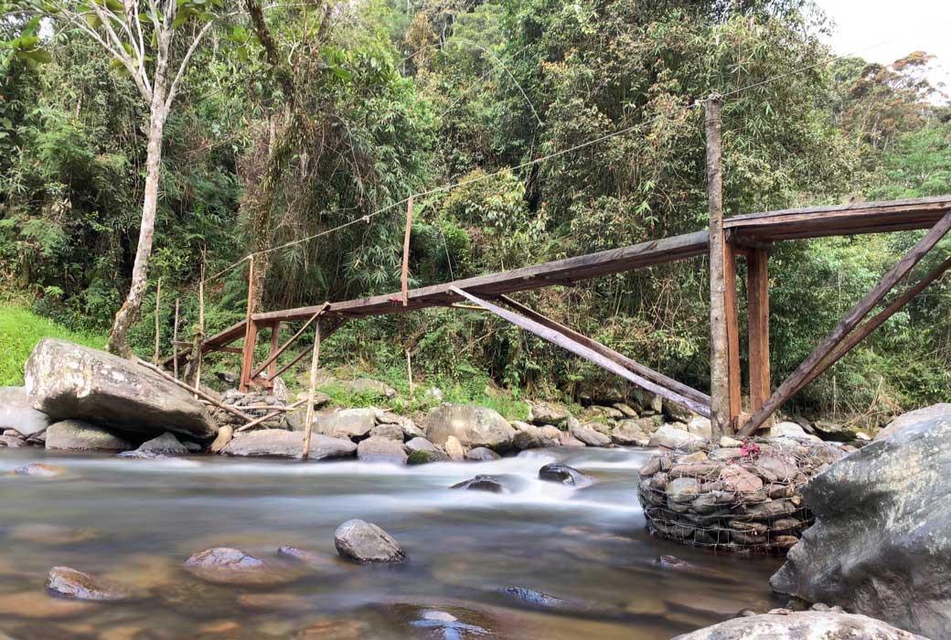 Bridge on the Kokoda Track