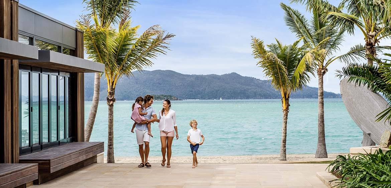 Family at InterContinental Hayman Island Resort