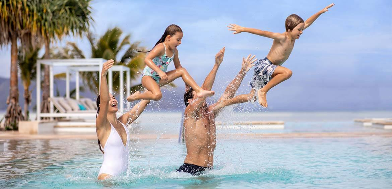 Family fun at InterContinental Hayman Island Resort