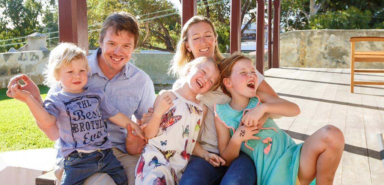Family fun at YHA Australia
