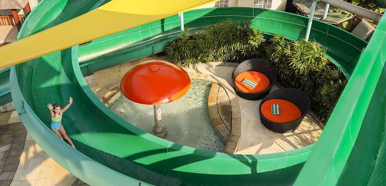 Kids water fun zone