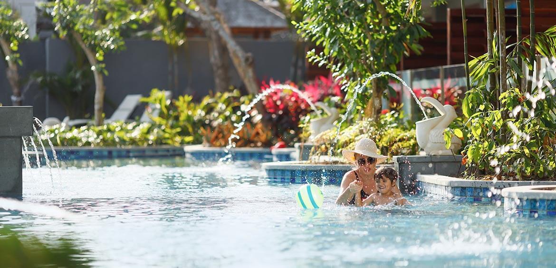 Lagoon Pool at Bali Dynasty Resort