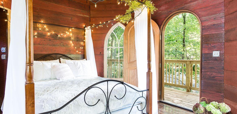 Nest Treehouse interior