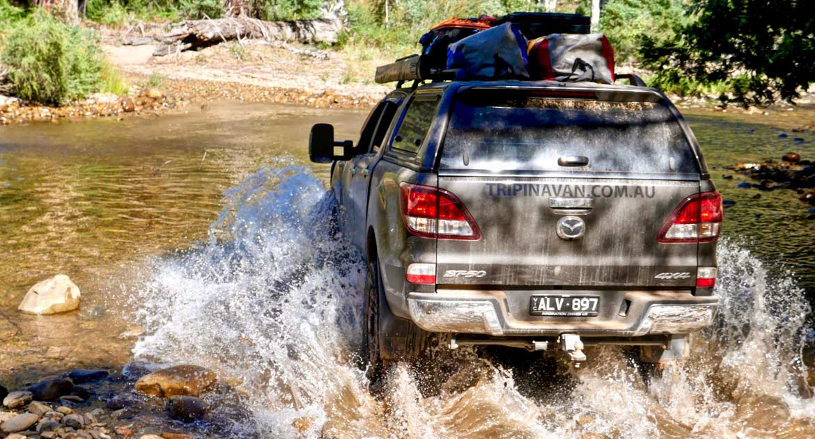 4WDing in the remote Victorian High Country