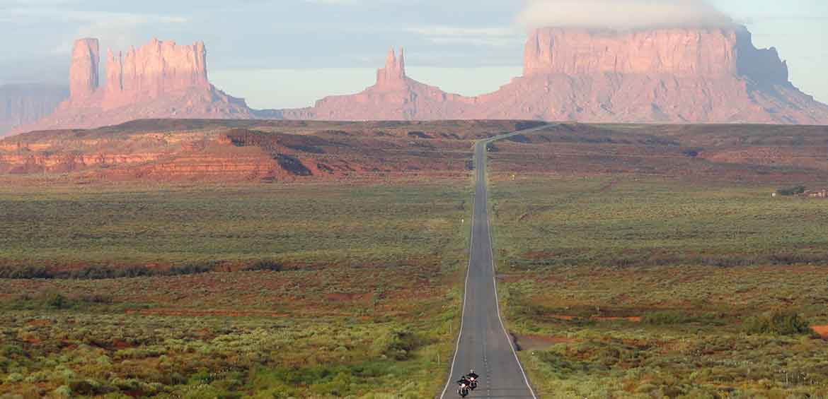 Forrest Gump Point in Monument Valley/ Image courtesy of Fabio Achilli.