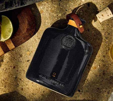Misc. Goods Co Black Flask