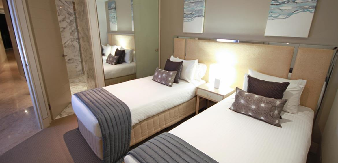 Second Bedroom at Oceans Mooloolaba