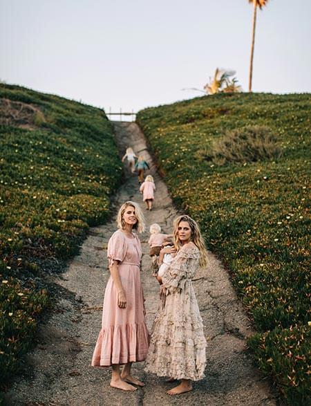Teresa Palmer and family