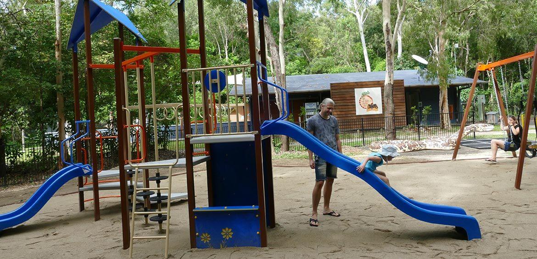 Playground at Hartley's Crocodile Adventures
