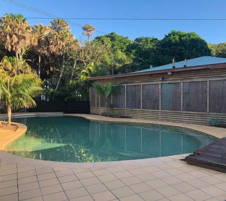 Pool at Tiona Holiday Park