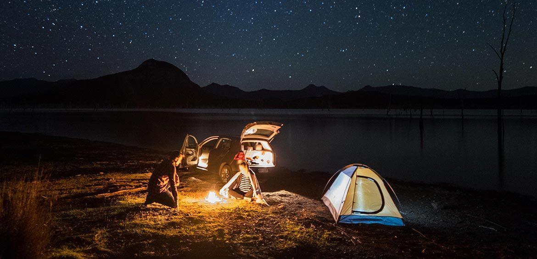 Starlight Camping at Lake Moogerah