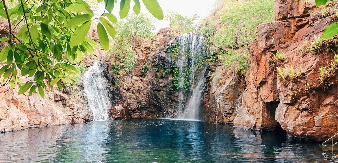 The inviting pool at Florence Falls