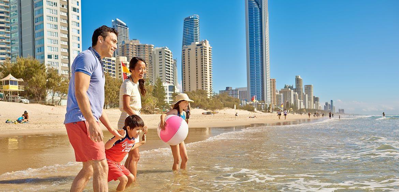 Family on the Gold Coast