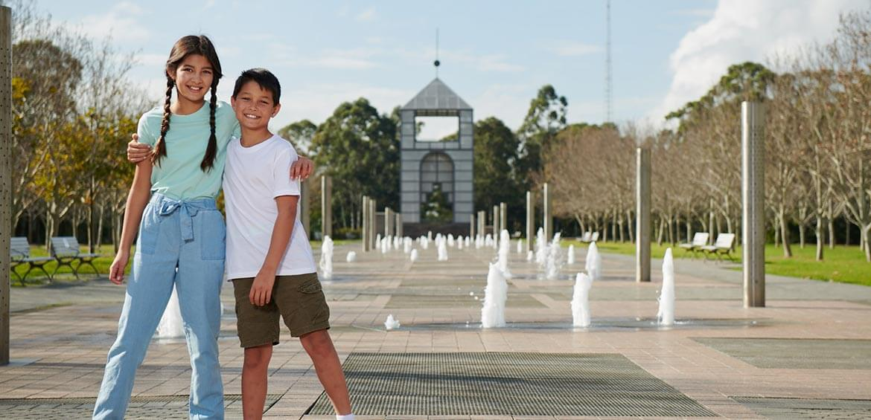 Treillage at Sydney Olympic Park