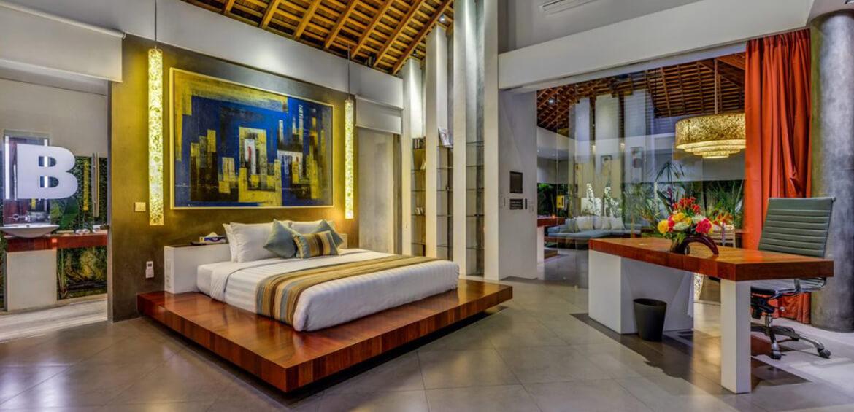 Bedroom at Villa Banyu, Seminyak