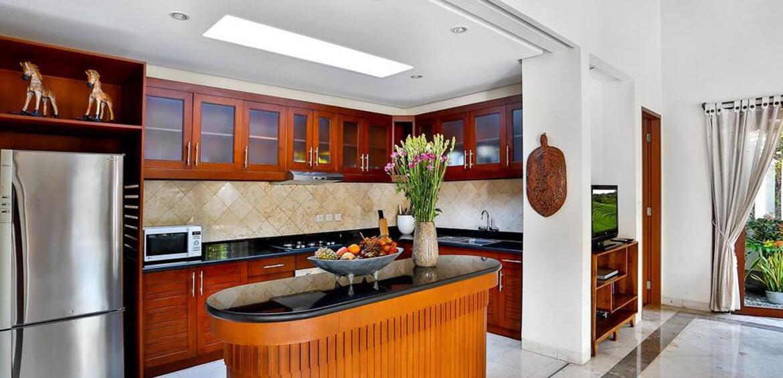 Kitchen at Villa Shanti, Seminyak